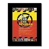 Music Ad World Clash – The Singles Mini-Poster, mattiert,