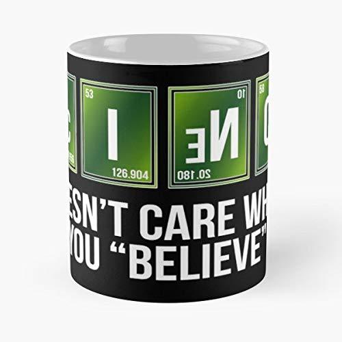 Atheism Atheist Science Reason Facts Agnostic Reality Evolution Darwin Dawkins - Best 11 oz Kaffee-Becher - Tasse Kaffee Motive