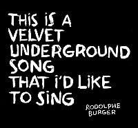 Velvet Underground Song