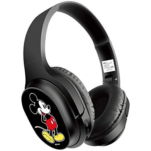 Auriculares Stereo Bluetooth Cascos Licencia Oficial Disney Mickey Marca Disney