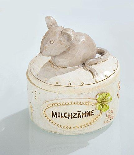 Aufbewahrung Milchzähne Milchzahndose MAUS Kleeblatt