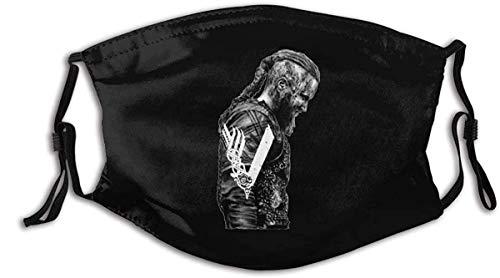 BJXXWH King Ragnar Lothbrok Vikings Outdoor Bandanas,Protective 5-Layer...