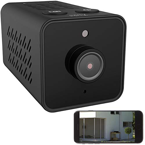 7links Mini Camera: Mini-IP-Überwachungskamera mit Full HD, WLAN, Nachtsicht, 8 Std. Akku (Mini IP Camera)