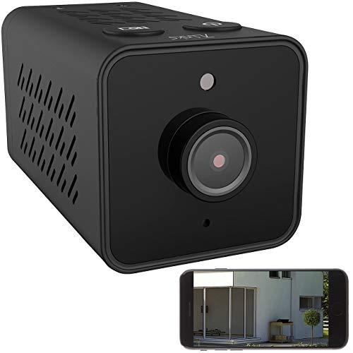 7links Kameras: Mini-IP-Überwachungskamera mit Full HD, WLAN, Nachtsicht, 14 Std. Akku (Mini Webcam)