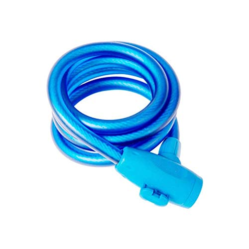 SGSG Bike Cable Lock, con Cubierta Antipolvo/PVC Respetuoso con el Medio Ambiente/Bike U Lock para Bicicletas de Carretera/Bicicletas de montaña/Master Lock U Locks