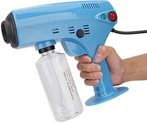 Rociador de pistolas de vapor, pulverizador recargable de mano nano atomizador pulverizador de desinfección profesional, máquina nebulizadora portátil nano vapor spray pistola de pelo máquina de pulve