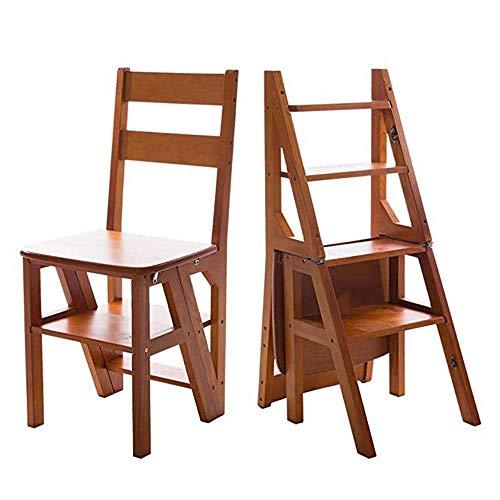 HYY-YY Taburete plegable de escalón multifuncional, silla de banco para casa, cocina, biblioteca, banco para ahorrar espacio