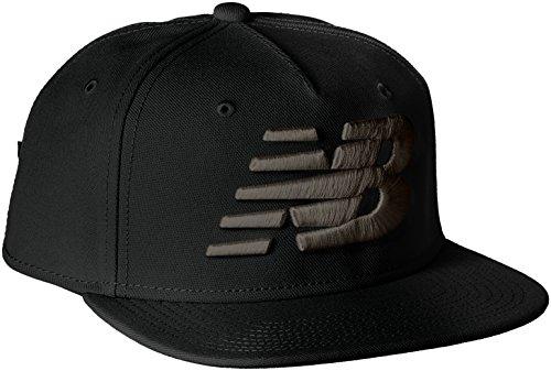 [ニューバランス] キャップ NBロゴキャップ メンズ JACL6220 BK(ブラック) L