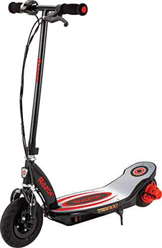 Razor Power Core E100 Electric Scooter - Aluminum Deck - Red - FFP