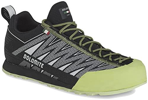Dolomite Zapato VELOCISSIMA, Scarpe da Ginnastica Unisex-Adulto, Pewter Grey Green Shoot, 44 EU