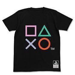 プレイステーションシェイプス Tシャツ プレイステーションシェイプス ブラック サイズ:L