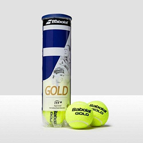 Babolat Gold Pet X4 Pelota de Tenis, Unisex Adulto, Amarillo, Talla Única