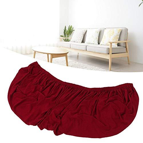 Okuyonic Fundas Impermeables para Asientos de sofá para Hotel para Muebles(Wine Red, Four-Seater)