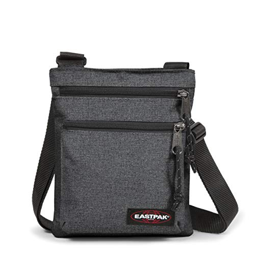 Eastpak Rusher Umhängetasche, 23 cm, Grau (Black Denim)