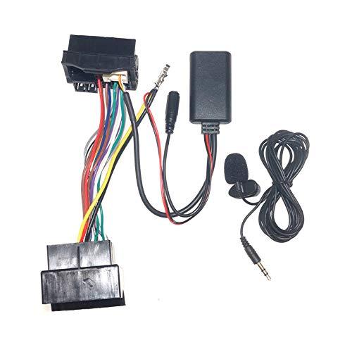 FEELDO Módulo Bluetooth para coche AUX-in Audio MP3 Music Adapter 16Pin estéreo arnés de cable para BMW X5 X3 Z4 E83 E85 E86 E39 E53