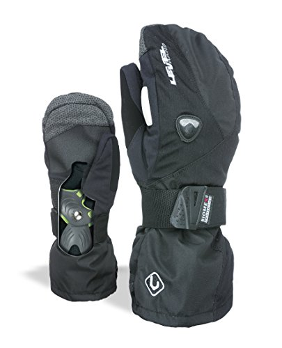 Level Herren Handschuhe Fly Mitt, Black, 8,5