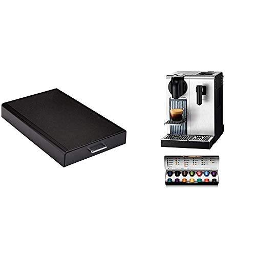 Amazon Basics Cajón para almacenar cápsulas de Nespresso + De