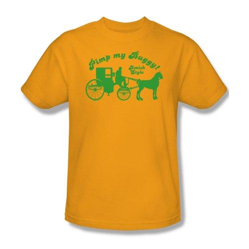 Pimp My Buggy - T-Shirt Hombres En El Oro, Small, Gold