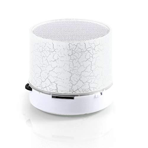 Gojiny Tragbarer Drahtloser Bluetooth Sprecher Wasserdichtes Duschradio BT-Mini Drahtloser Duschradiosaugnapf-Stereolautsprecher Vervollkommnen für Pool Dusche Boot Strand Heiße Wanne