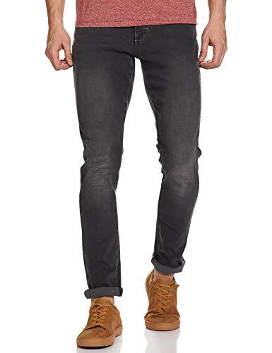 Wrangler Men's Skinny Fit Jeans (W38631W22SMU032033_Jsw-Black_32W x 33L)