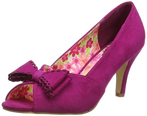 Joe Browns Vivacious Bow Shoes, Scarpa Mary Jane Donna, Rosa, 35.5 EU
