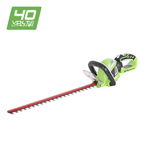 Greenworks Tools 61cm (24'') 40V Lithium-Ion Cordless Battery Hedge Trimmer (Tool Only)