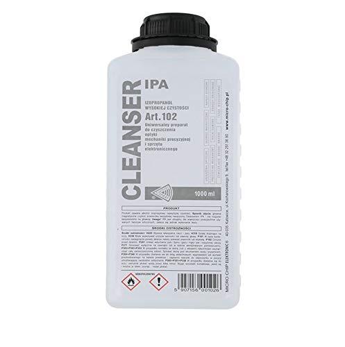 Alcool Isopropilico PURO 1 Litro Detergente liquido per vaschetta ultrasuoni Cleanser Ipa art. 102 isopropanolo IPA-102