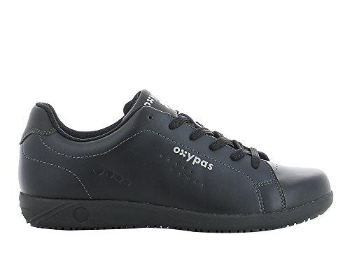 Oxypas Evan Herren Arbeits- und Sicherheitsschuhe | Sneaker, Farbe: schwarz, Größe: 44