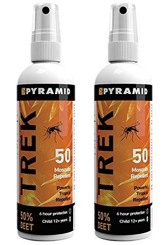 """Piramide - Repellente per zanzare e insetti """"Repel 55"""", 2 Bottles, 100 ml"""