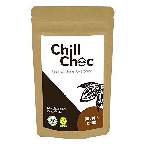ChillChoc | Anti-Stress-Trinkschokolade, Kakao | warm und kalt genießen, Top-Geschenke (Double Choc, 100)