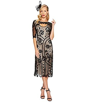 Unique Vintage Womens Avalon Flapper Dress