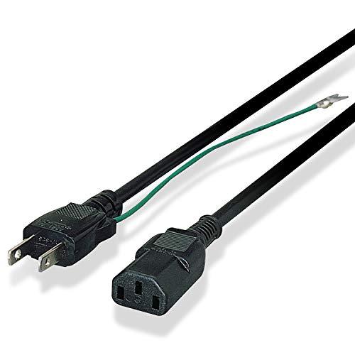 エレコム 電源ケーブル 3Pin-2Pin 1.8m KT-218