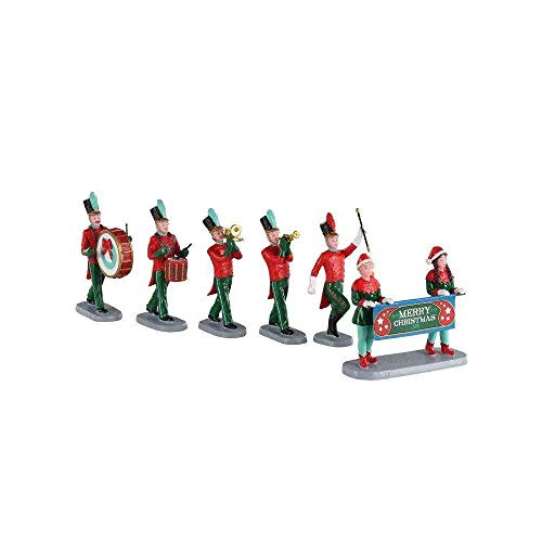 Lemax+03515+Christmas+On+Parade+Village+Accessory%2c+Multicolored