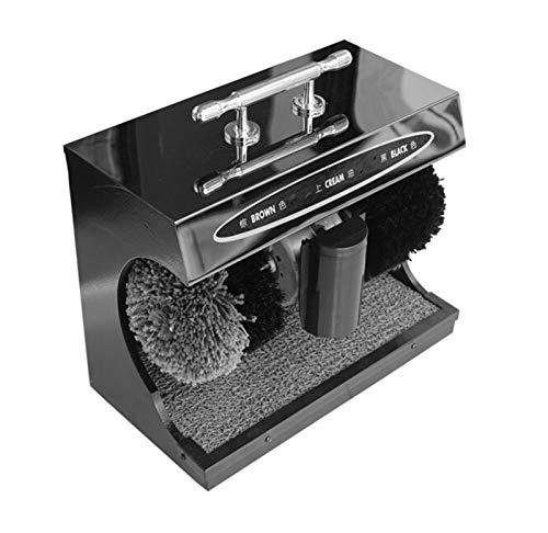 Brushes Pulidor de Zapatos de Zapato de inducción automática Negro Adecuado for Uso doméstico
