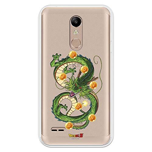 Funda para LG K11 - K10 2018 Oficial de Dragon Ball Dragón Shen LON para Proteger tu móvil. Carcasa para LG de Silicona Flexible con Licencia Oficial de Dragon Ball.