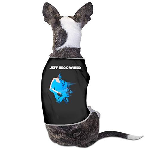 ShixiaoCC Jeff Beck Wired Cat & Dog Fashion Pet Wear Pet Dog Classic Outdoor Clothing