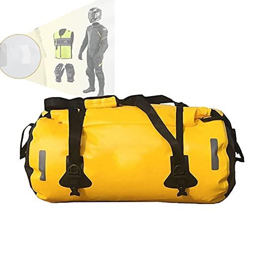 N \ A Borsone Impermeabile 40L 60L 80L con Cuciture saldate per Escursionismo, Canottaggio, Bicicletta, Moto(Color:L)