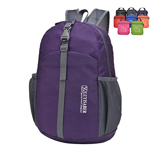 ZUMUii Butterme Imperméable Packable Foldable Light Travel Outdoor Sports Sac à Dos Daypack
