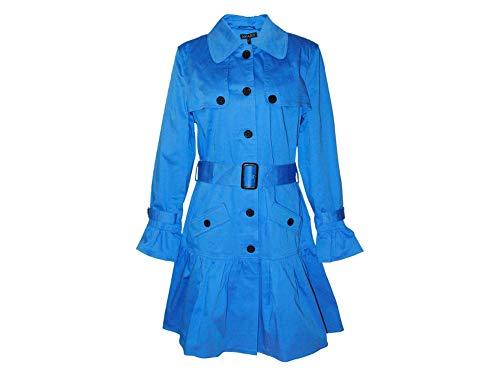 APART Damen Trenchcoat Mantel Blau Gr.40