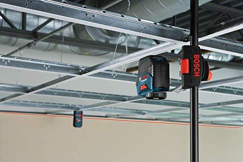 Bosch Professional Kreuzlinienlaser GCL 2-50 (5x AA Batterien, Arbeitsbereich: 50m, im Handwerkerkoffer) - 5