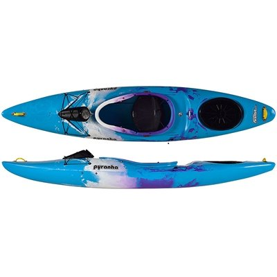 Pyranha Fusion M C4S Kayak Red/Grey/White