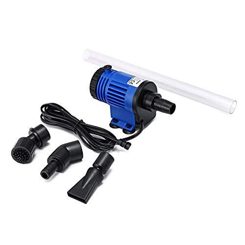 LYGID Elektrische Pumpe Aquarium Fischbehälter Wasserwechsel Bodenreinigung Reinigung Wasseraustauschgeräte für Aquarien höhenverstellbar