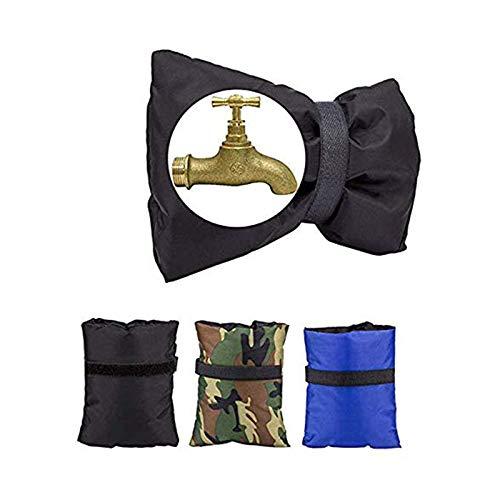 SunFlower6666 3 Packs Winter Outdoor Wasserhahn Abdeckungen, Wasserdichte Gartenschlauch lätzchen Isolierung Socken Einfrieren Schutz Abdeckung