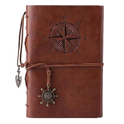 MALEDEN Refillable Daily Travel Journal