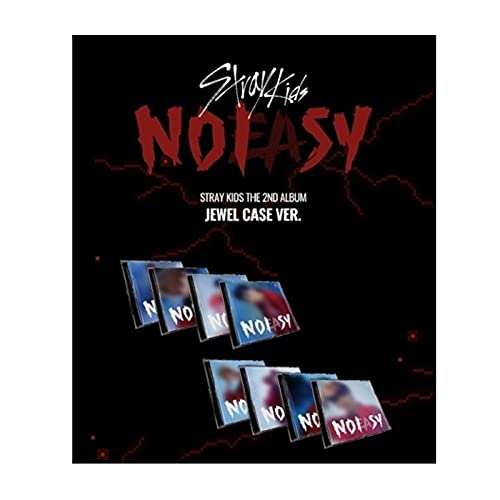 Stray Kids - NOEASY 2nd Album Jewel Case Version+Album Contents+1p Folded Poster+Message PhotoCards SET+Tracking Kpop Sealed (CHANGBIN)