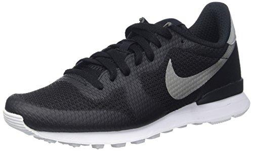Nike Internationalist NS, Zapatillas de Deporte Hombre, Negro (Black/Mtllc Slvr-FLT Slvr-Wht), 41 EU