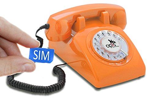 OPIS 60s Mobile: móvil de sobremesa/teléfono Fijo con sim/teléfono móvil para Mayores/teléfono...