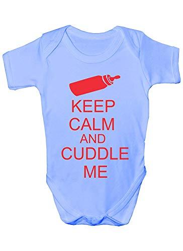 Mesllings Cuddle Me Baby-Strampler, Geschenk für Jungen und Mädchen, für Geburtstag Gr. 56, multi