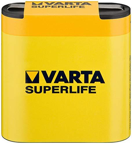 Varta Superlife Batterie (3R12, 4,5V) gelb