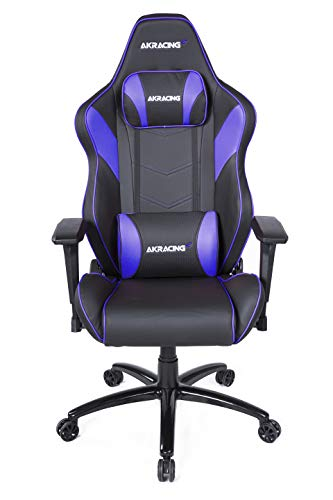 AKRacing Core Series LX Plus Ergonomic Gaming Chair with Racing Seat, 330 Lbs Weight Limit, Rocker and Seat Height Adjustment Mechanisms with 5/10 Warranty Categories